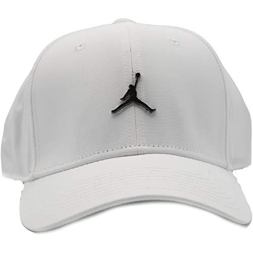 NIKE Jordan Clc99 Cap Metal Jm Hat, Unisex Adulto, White, MISC
