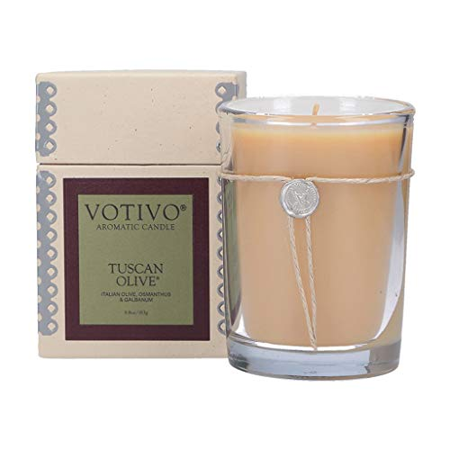 Votivo 6.8oz Aromatic Candle-Tuscan Olive