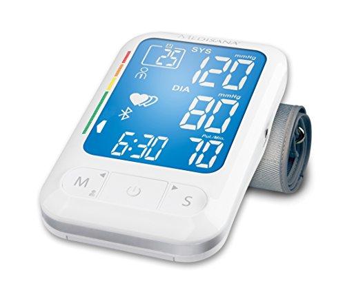 Medisana BU-550 - Tensiómetro de brazo, con transferencia de datos mediante Bluetooth...