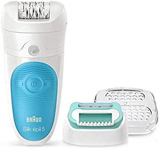 Braun Silk-epil 5 5-511 Wet & Dry Cordless Epilator for Women