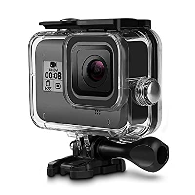 iTrunk Waterproof Housing Case for Gopro Hero 8 Black 60M Underwater Protective Case Shell with Bracket Accessories for Gopro Hero 8 Action Camera by iTrunk