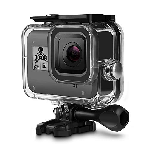 iTrunk Waterproof Housing Case for Gopro Hero 8 Black 60M Underwater Protective Case Shell with Bracket Accessories for Gopro Hero 8 Action Camera