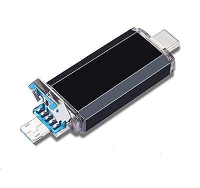 USB Flash Drive 64GB,USB 3.0 Type C Dual OTG Thumb Drive Memory Stick for USB-C Smartphones,Tablets,Huawei P20,LG G6(Not For Samsung)