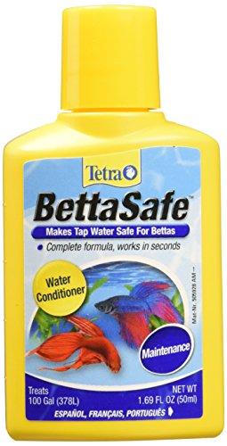 Tetra BettaSafe, aquarium Water Conditioner For Bettas, 1.69-Ounce, 50-Ml, Golds & Yellows, Model:16837