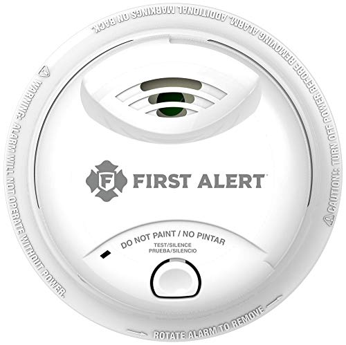 First Alert Battery Powered Smoke Alarm with Silence Button,  SA303CN3
