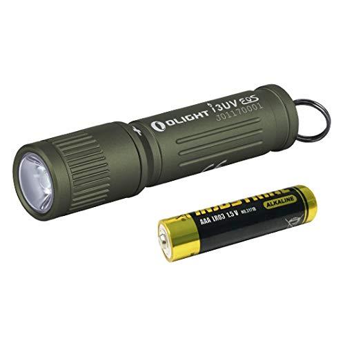 OLIGHT オーライト I3UV EOS ブラックライト UVライト 紫外線 395NM 蛍光剤検査 真偽鑑定 ミニ軽量 キーホルダーライト 汚れ対策 5年保証 単四電池 小型 懐中電灯
