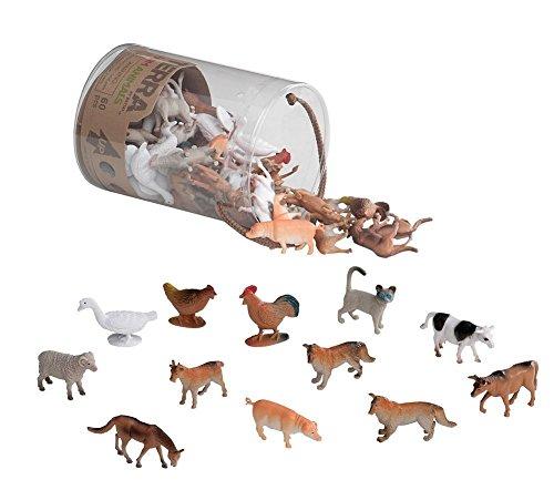 Terra - Farm Animals Mini Figure Set - 60pcs