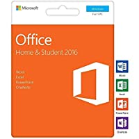 Microsoft Office 2016 Hogar y Estudiantes | Clave de activación en la caja | Microsoft Word Excel PowerPoint OneNote para Windows 10 Windows 8 Windows 7 | Microsoft Office 2016 Home and Student PC