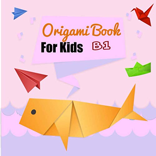 Origami Book For Kids B1: Coloring learing for kid