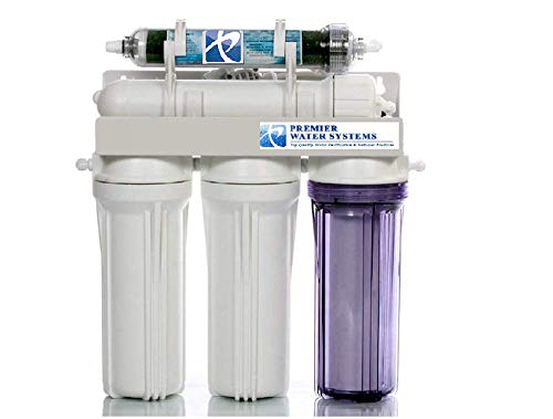 Premier 150 GPD Aquarium Reef Reverse Osmosis 5 Stage RODI Water Filtration System | Made in USA