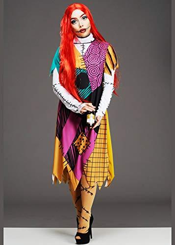 Delights Disfraz de muñeca Sally de Pesadilla para Mujer Antes de Navidad Medium (UK 12-14)