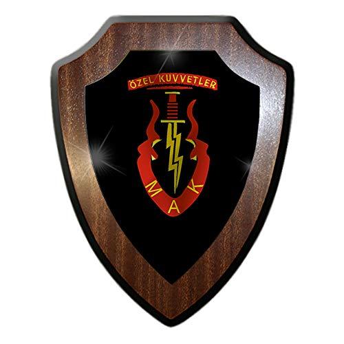 Wappenschild Özel Kuvvetler MAK Bordo Bereliler Türkei Armee Streitkräfte #27083