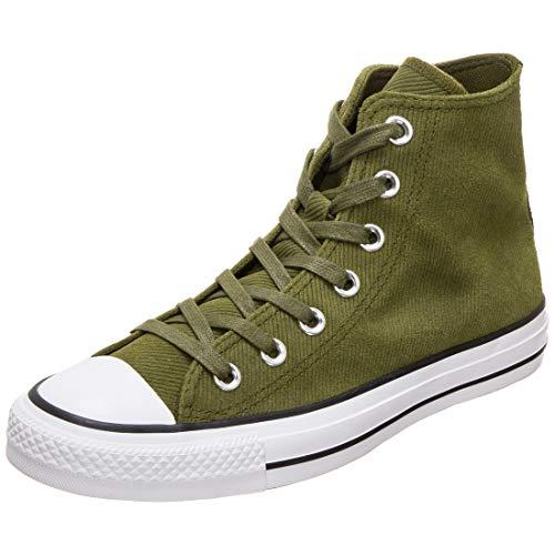 Converse Chuck Taylor All Star Retrograde Sneaker Damen Oliv, 7.5 US - 38 EU - 5.5 UK