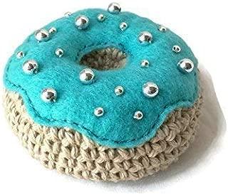 Handmade Crochet Donut, Toy Donut, Pin Cushion