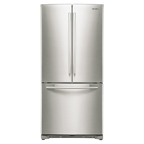 SAMSUNG RF18HFENBSR Counter-Depth French Door Refrigerator, 17.5 Cubic Feet, Stainless Steel