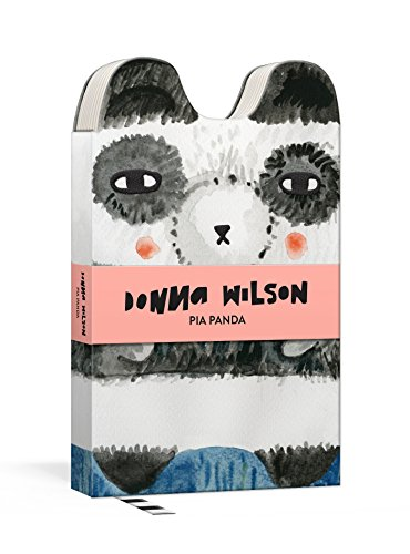 Pia Panda Critter Journal: Hardcover Die-Cut Small Format 144-Page Lined Journal with Ribbon (Donna Wilson's Critters)