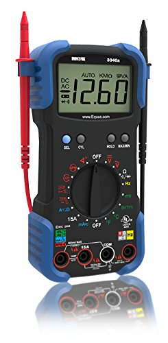 New INNOVA 3340 Automotive Digital Multimeter (10 MegOhm/UL)