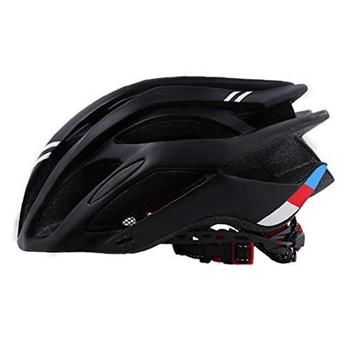 Cap Bicicleta de montaña Casco de Montar tamaño Fresco Seguridad Vial el Equipo de Ciclo de Las Mujeres de los Hombres del Deporte al Aire Negro Casco de la Bici