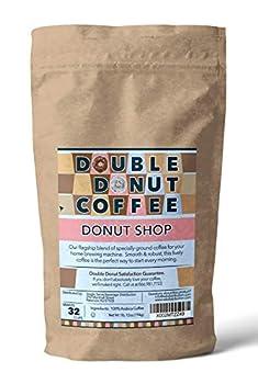 Double Donut Ground Coffee Donut Shop Medium Roast 28 Ounce Bag