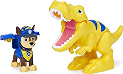 CHASE FIGURE WITH WORKING TOOL: When a dino friend is in trouble, simply push Chase's badge button to jump into action — a working tool pops out from his backpack! DINOSAUR ACTION FIGURE: This set includes an adorable yellow T-Rex dino to expand your...