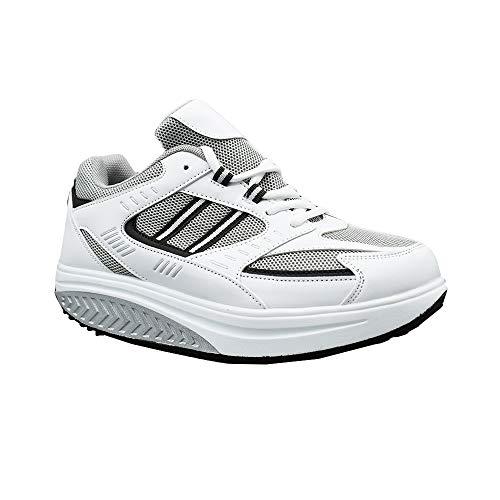 Ettes® - Zapatillas de adelgazamiento para hombre - Modelo Toronto - Material piel sintética - Para caminar cómodamente Size: 41 EU
