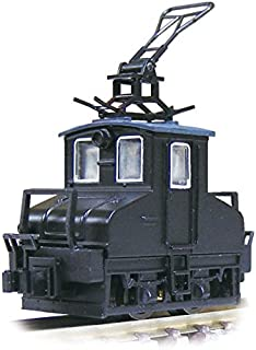津川洋行 Nゲージ 14041 銚子電気鉄道 デキ3 電気機関車 ビューゲル仕様 車体色:黒 動力付