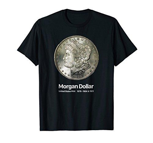 Coin Collector Morgan Dollar T-Shirt