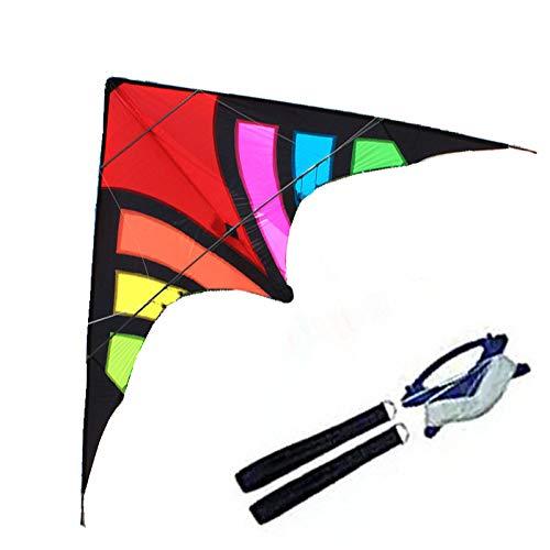 SDCVRE Drachen HochwertigeOutdoor Fun Sports2,8 mwiderstandsfähige NylonPower LenkdrachenCarbon Rute Einstiegsniveau Gutes Fliegen