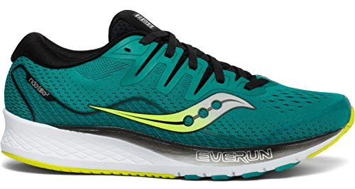 Saucony Ride ISO 2, Running Shoes for Men, Green Green 37, 43 EU