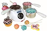 PME Electric Chocolate Candy Melt Buttons Melting Pot 2 Heat Settings 3 Pots