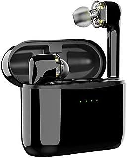 ZIXUAL Bluetooth-hörlurar, tws trådlöst Bluetooth-headset 5.0 dubbla in-ear sporthörlurar