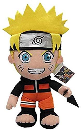 Juguetes de Peluche 30cm Anime Naruto Uzumaki Naruto muñeco de Peluche de Juguete Uzumaki Naruto Cosplay Disfraz Felpa Suave Juguetes de Peluche Regalo para niños