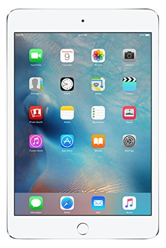 Apple iPad Mini 4 32GB Wi-Fi - Silver (Renewed)