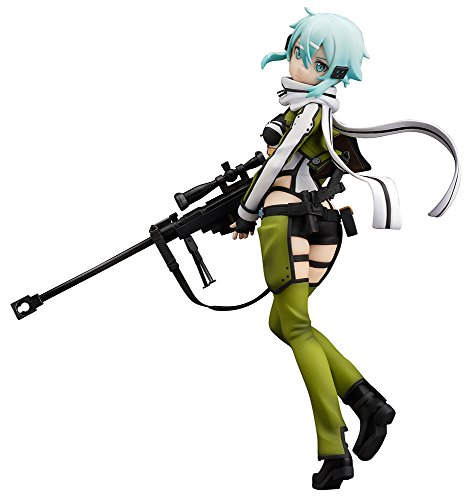 Sword Art Online II: Sinon 1:8 Scale PVC FigurePlateado
