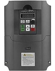 Inversor VFD, convertidor de frecuencia VFD 7.5kW monofásico Entrada 220VAC Salida trifásica 380VAC, controlador de velocidad VFD Inversor VFD