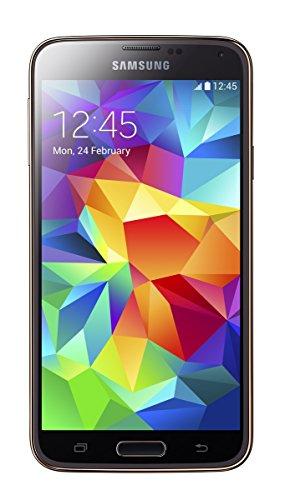Samsung Galaxy S5 SM-G900F 3.5 Zoll 4G 2 GB 16 GB 2800 mAh Gold Smartphone (12,9 cm (5,1 Zoll), 1920 x 1080 Pixel, 2 GB, 16 GB, 16 MP, Gold)