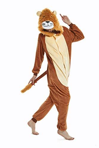 SeeShine Adults Unisex Animal One Piece Pajamas Cosplay Costume Onesies Sleepwear Jumpsuit for Men Women