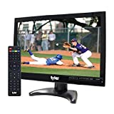 Tyler TTV705-14 14' Portable Battery Powered LCD HD TV Television with HDMI, USB, RCA, and SD Card...