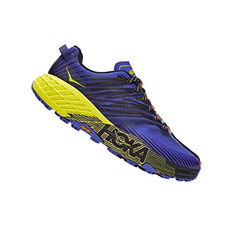 Hoka One One Speedgoat 4 Wide - Zapatillas de running para hombre, color Azul, talla 45 1/3 EU Weit