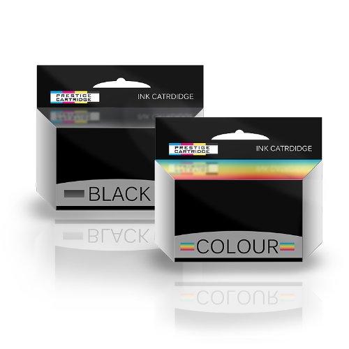 Prestige Cartridge COMBO PACK - Rigenerate No. 23 & No. 24 Cartucce di inchiostro per Lexmark Stampanti X3500, X3530, X3550, X4500, X4530, X4550, Z1410, Z1420, Z1450, Z4100 - UN SET