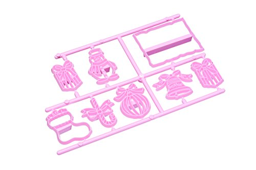 KitchenCraft Sweetly Does It Christmas 3D Embossing Cutters