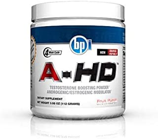 AHD Test Booster by BPI Sports - Testosterone Boosting Supplement (28 Servings)-Fruit Punch
