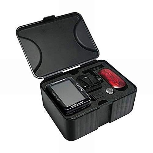 【日本正規品】 LEZYNE(レザイン) 自転車 サイクルコンピューター MEGA XL GPS LOADED W/DIRECT XLOCK ブラック GPS本体とセンサー、マウントのセット  2年保証 重量: 83g(mega xl gps)