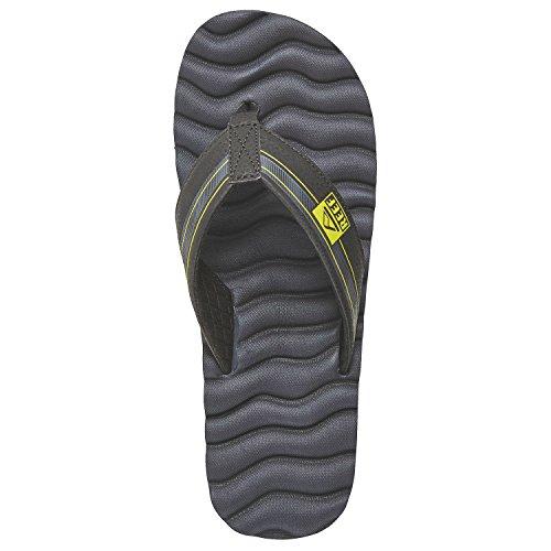 Sandali uomo Reef Swellular Cushion 3D Sandals, Blu (Navy Green), 40