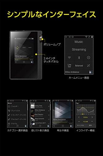 ONKYOデジタルオーディオプレーヤーrubatoハイレゾ対応ブラックDP-S1(B)