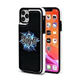 Sl-ipknot Pop Bands Heavy Metal iPhone 11 Pro/11/11 Pro Max Wallet Case with Card Holder,PU Leather Double Magnetic Clasp Shockproof Cover