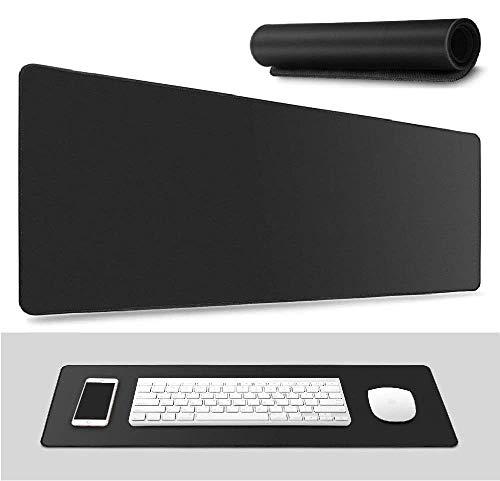 mouse pad negra de la marca DETUOSI