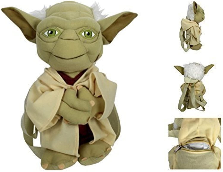 Plush Backpack  Star Wars  Yoda Soft Doll New 124193