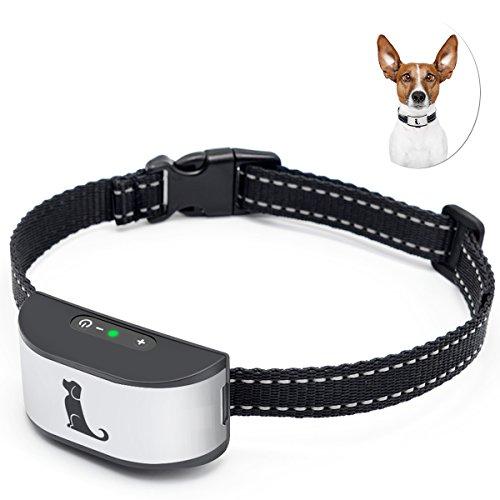 ACETEND Collar Anti Ladridos,Detenga el ladrido de Perros de una Manera Humana con Sonidos y Vibraciones, sin Golpes (Recargables e Impermeables)
