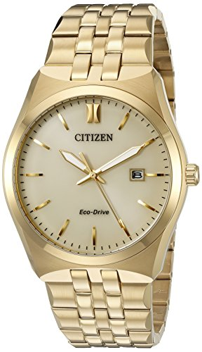 Citizen Men's Eco-Drive Stainless Steel Watch with Date, BM7332-53P